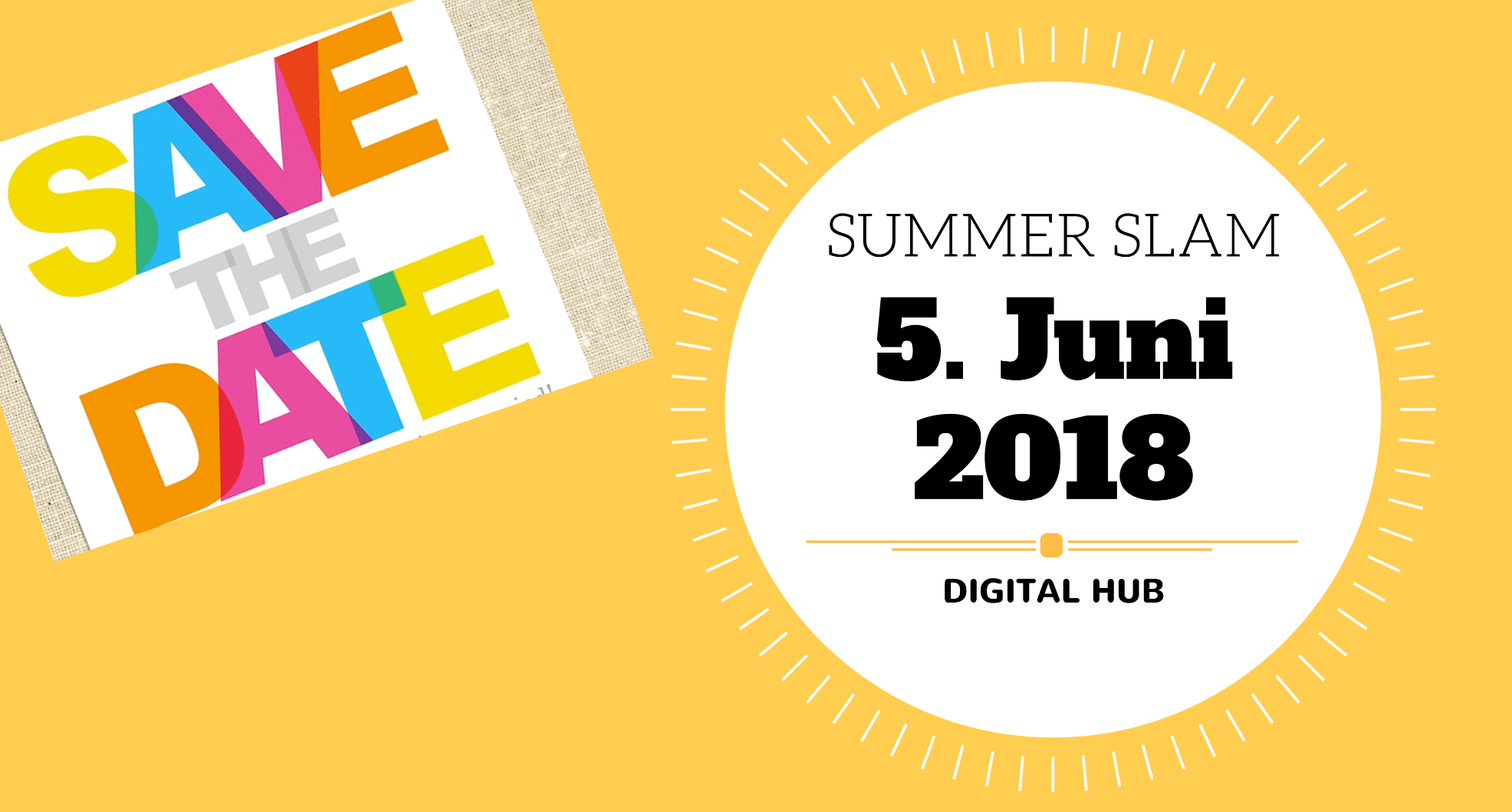Wir, beim Summer Slam 2018 in Bonn