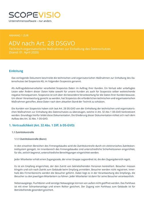 Anhang 1 ADV
